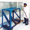 No-Pump Water Wash Paint Booth