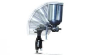 Finex Side Cup Gravity Air Spray Guns