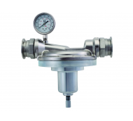 Low Shear Back Pressure Regulator